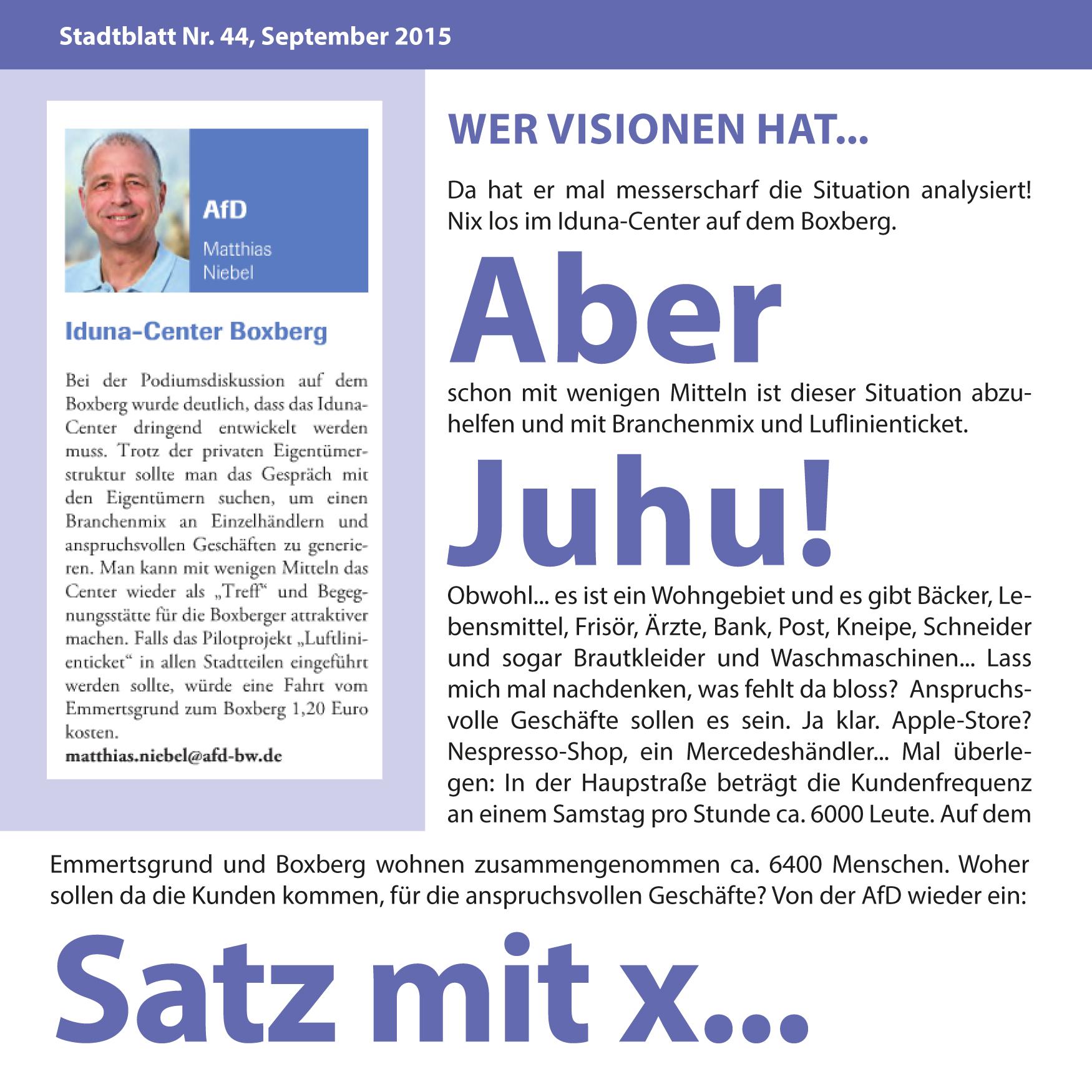 ... der soll zum Arzt gehen. Ein guter Tipp von Helmut Schmidt. Leider hört der Herr Niebel wahrscheinlich nicht auf gute Ratschläge.